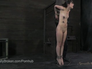 20 Year Old Girl Next Door Face Destroyed In Bondage
