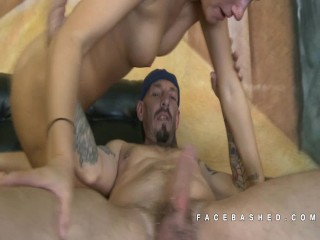Gia Love Drools And Spit During Facefuck