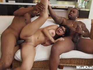 BEST OF SEXY CUMSLUT MIA KHALIFA ANAL BLOWJOB FACEFUCK FUCK THE WHORE