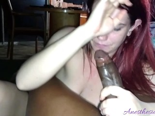 ♠Anesthesia Rose Doesn't Want To Be Recorded Gagging On Black Dick♠