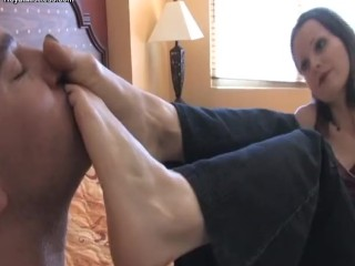 Mistress Arella Foot Gagging