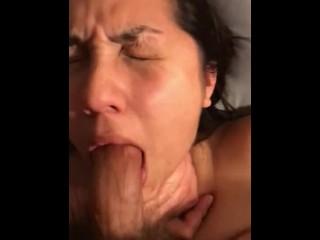 Facial Abuse Deepthroat Blow-Job Slapping POV Gagging