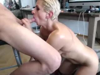 Russian FBB Natalia Berezkina Rough Facefuck