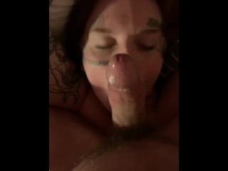 British Uk Ginger Tattooed Amateur Tied Up And Face Smashed Rewarded W Jizz