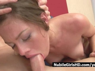 Nubile Kristy Gets Deep Throat Ruined