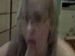 Bbw Gagging On Penis