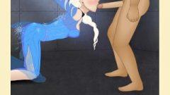 Super Deepthroat:Elsa And Anna