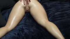 Seductive Massage Turns To Face Fuck And Big Meaty Facial