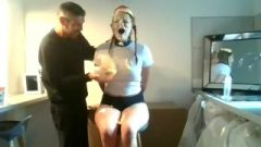 Wam Splosh Whilst Whore Tied To Chair – Brutal Face Fuck And Raw Sex Xxx