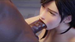 Tifa Big Black Cock Facefuck W/sound Final Fantasy