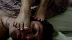 Suggestive Foot Praise And Gag