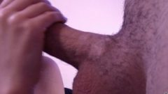 After Deep Blow Job He Choked Me With A Enormous Jizz Load!60p