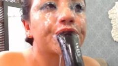 Ultra Juicy Deepthroat Gag Spit Drool Slut Wrecks Her Face