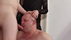 Nubile Goth Domina Help Her Papa To Facefuck Slave Pt1 High Def