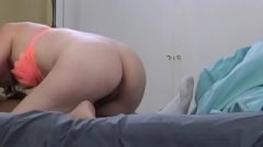 Petite White Hotwife Deep Throating A Big Black Dick