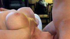 Fitness Trainer Skullfucked Upside Down