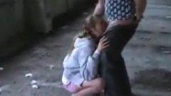 Russian Skullfucked For A Single Dollar