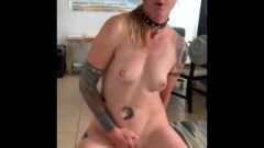 Sucking Dick, Riding, Slapping, And Licking With Luckylaney